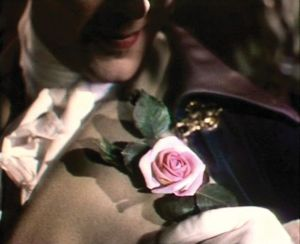 Marius Goring, the heavenly messenger, in Powell and Pressburger's A Matter of Life and Death